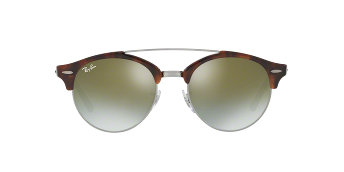 cb079a2a22 ... Ray Ban RB 4346 Clubround Double Bridge 62519J ...