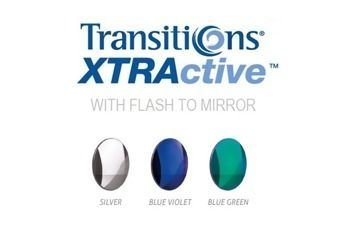 1.50 Transitions XTRActive with FLASH TO MIRROR - szary
