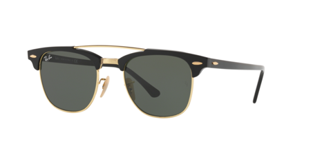 Ray Ban RB 3186 Clubmaster Doublebridge 901
